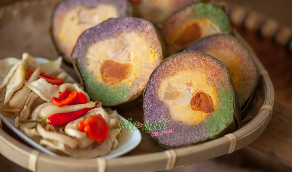 Bánh Tét Trà Cuôn Ngũ Sắc – Bánh Tét Trà Cuôn Truyền Thống Trà Vinh Tại Sài Gòn